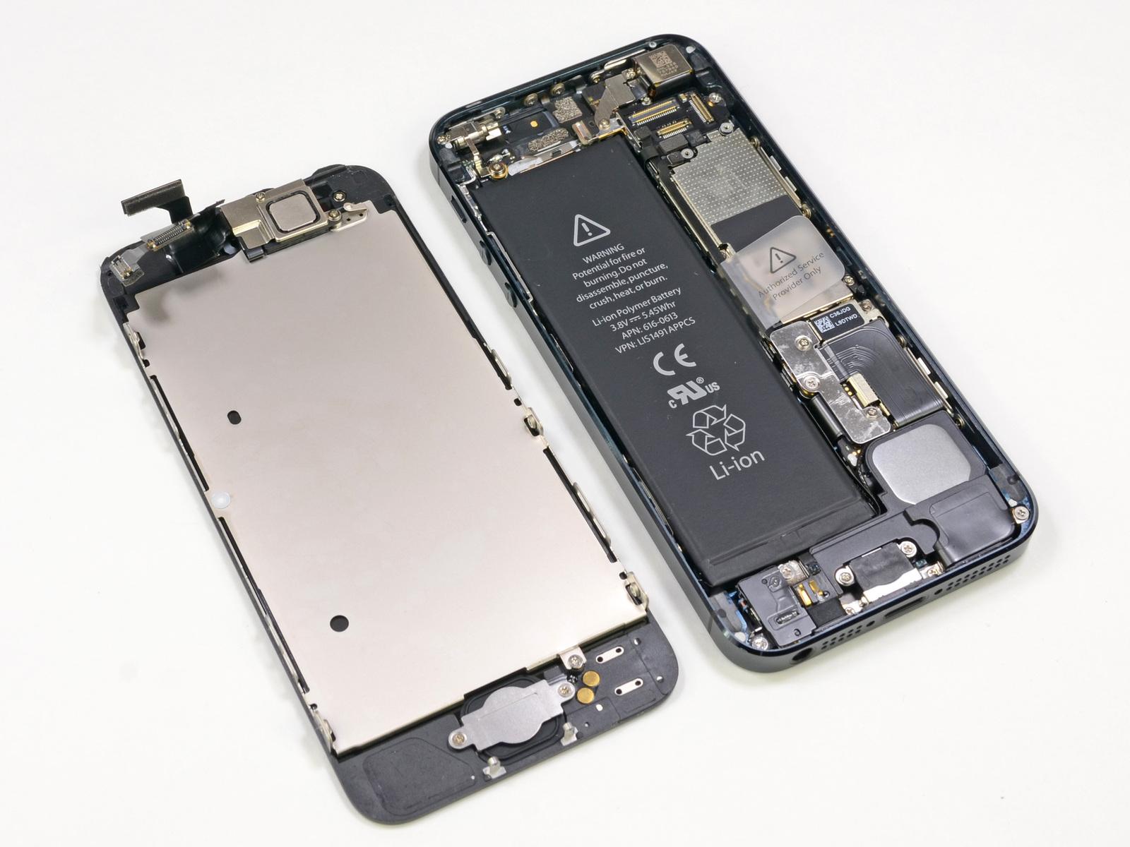 iPhone 5S repair parts